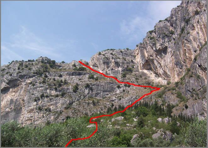 Klettersteig Colodri : Colodri klettersteig zusatz