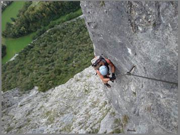 Maximilian Klettersteig : Kaiser max klettersteig